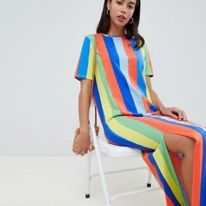 ASOS T-Shirt Maxi Dress - 8
